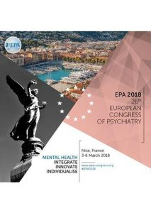 26th Congress of the European Psychiatric Association (EPA 2018) @ Palais des Congrès Nice Acropolis | Nice | Provence-Alpes-Côte d'Azur | France
