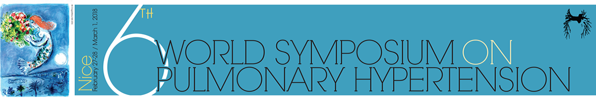 6th World Symposium on Pulmonary Hypertension – Nice – February 27-28/March 1, 2018 @ Palais des Congrès Nice Acropolis | Nice | Provence-Alpes-Côte d'Azur | France