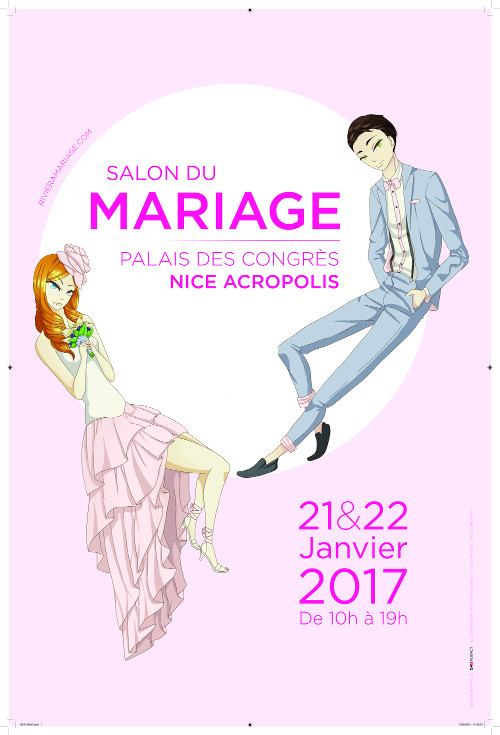 salon du mariage 2017 palais des congr s et des expositions nice acropolis convention and. Black Bedroom Furniture Sets. Home Design Ideas