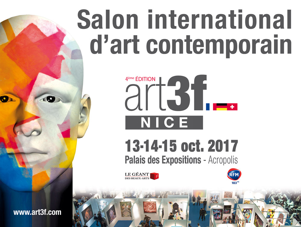 ART3F - Salon International d'Art Contemporain @ Palais des Expositions Nice Acropolis | Nice | Provence-Alpes-Côte d'Azur | France