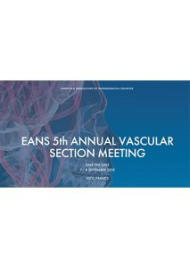 5TH ANNUAL MEETING OF THE EANS SECTION OF VASCULAR NEUROSURGERY @ Palais des Congrès Nice Acropolis | Nice | Provence-Alpes-Côte d'Azur | France